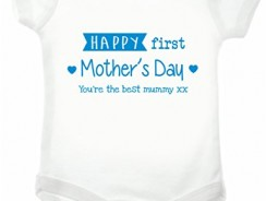 Happy First Mothers Day Babygrow