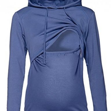 Nursing Hoodie – Breastfeeding Sweatshirt