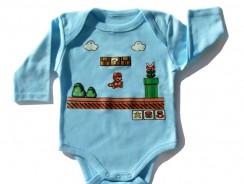 Super Mario Baby Clothes