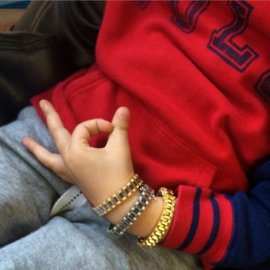 Kids Rolex Style Gold Bracelets