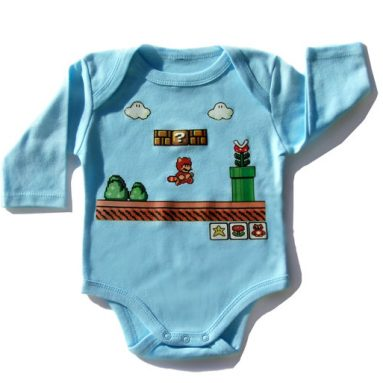 Super Mario Baby Clothes