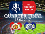 Manchester United Baby vs Chelsea Baby at FA Cup