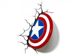 Captain America Shield 3d Led Light