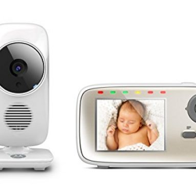 Motorola MBP483 Digital Video Baby Monitor