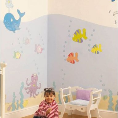 Undersea Adventure Room Makeover Kit