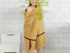 Yoda Baby Hooded Bath Towel